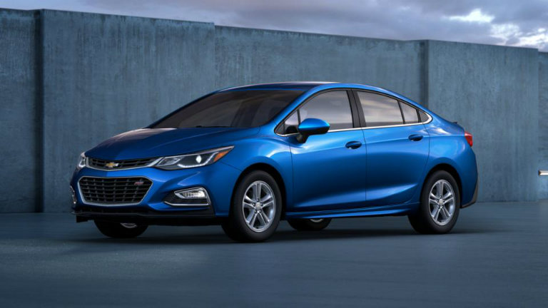 2017 Chevy Cruze in Kinetic Blue Metallic