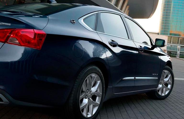 2017 Chevy Impala fuel economy rating