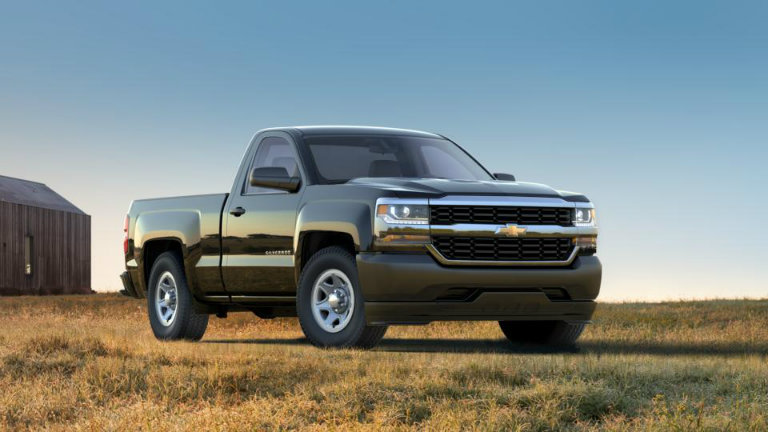 2017 Chevy Silverado in Black