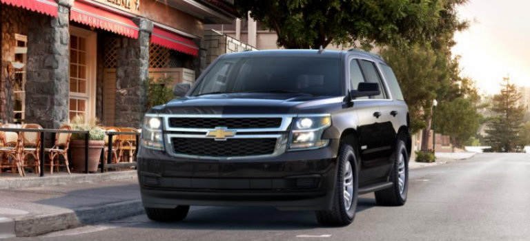 2017 Chevy Tahoe in Black