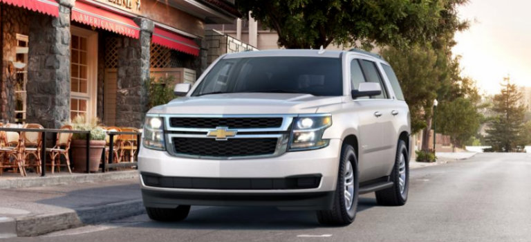 2017 Chevy Tahoe in Iridescent Pearl Tricoat