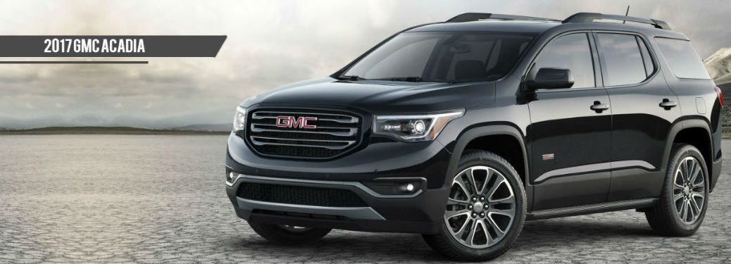 2017 GMC Acadia in black