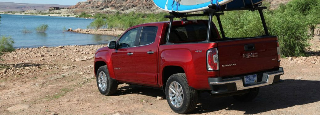 2017 GMC Canyon engine specifications