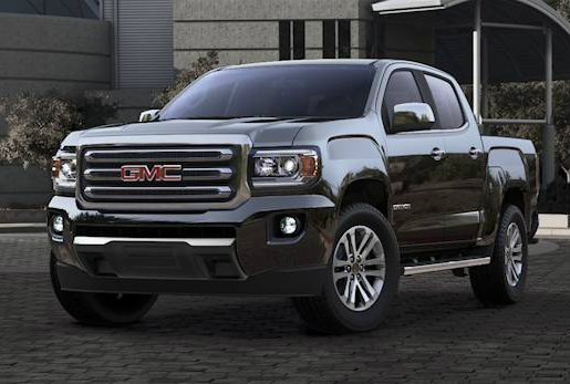 2017 GMC Canyon in Onyx Black