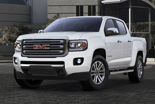 2017 GMC Canyon in Summit White