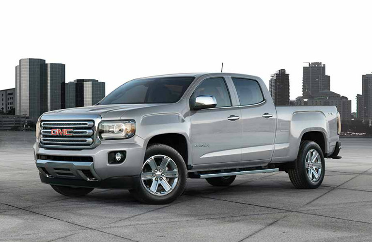 2017 GMC Canyon in gray