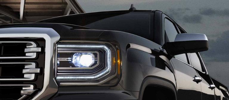 2017 GMC Sierra 1500 LED headlights
