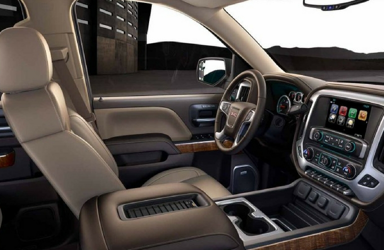 2017 GMC Sierra 1500 interior color options