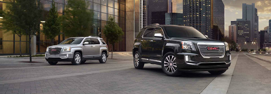 2017 GMC Terrain features and specs