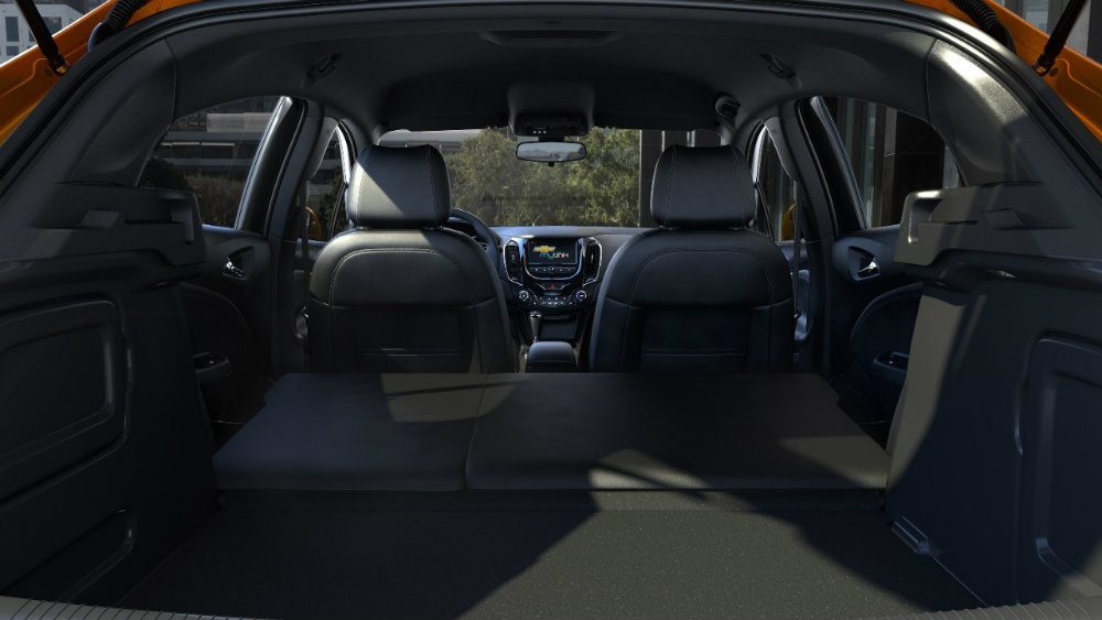2017 Chevy Cruze Hatch interior cargo space