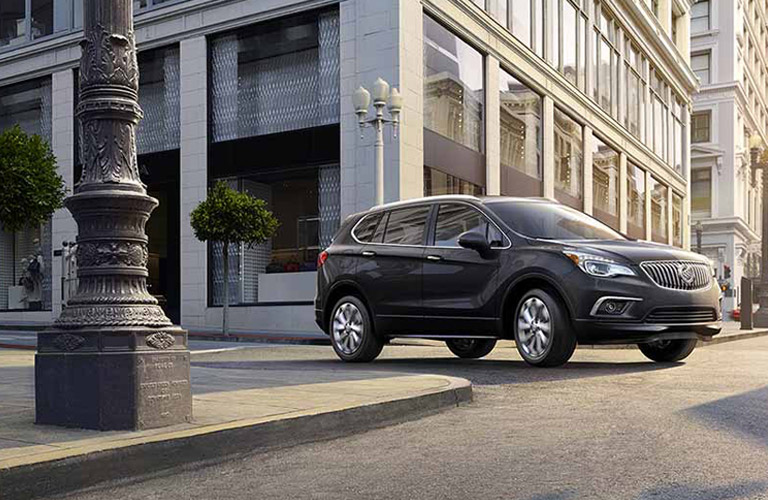 2018 Buick Envision in black