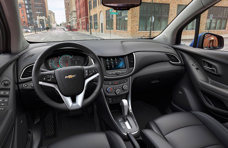 2017 Chevy Trax dashboard