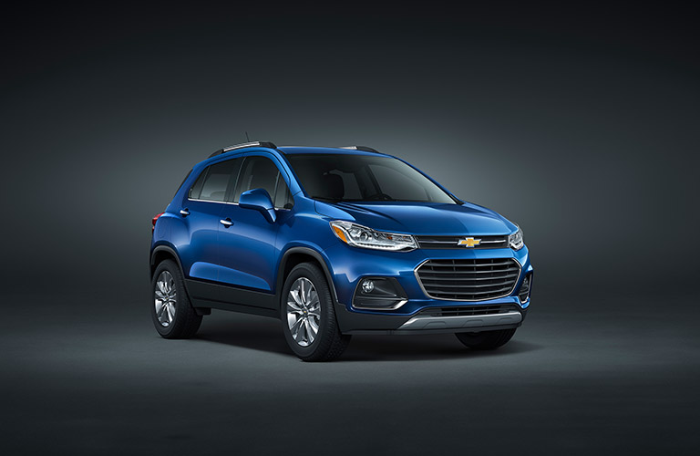 2017 Chevy Trax in blue
