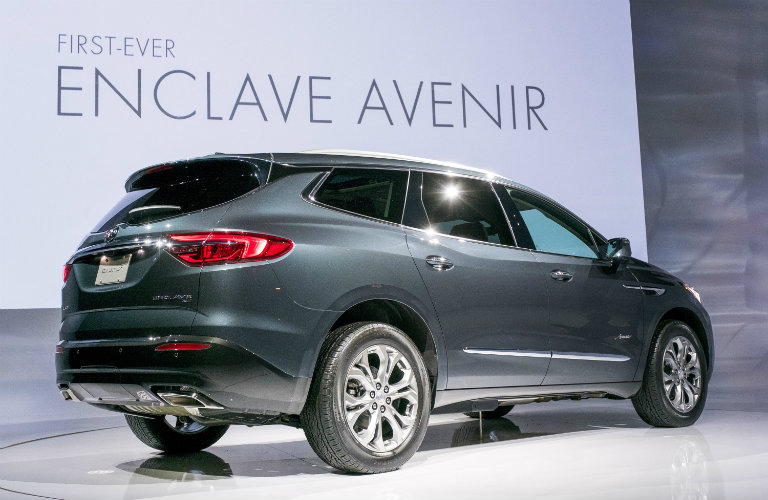 2018 Buick Enclave Avenir engine performance