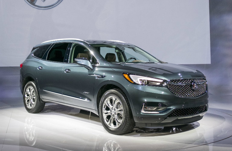 2018 Buick Enclave Avenir family-friendly features