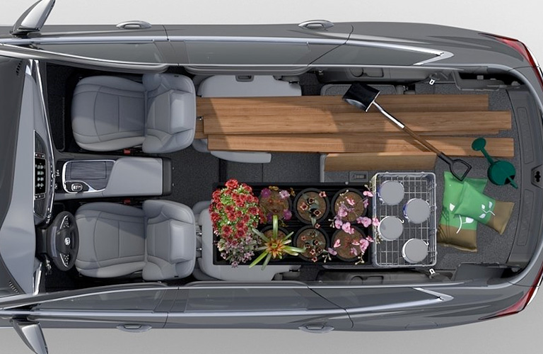 2018 Buick Enclave cargo space