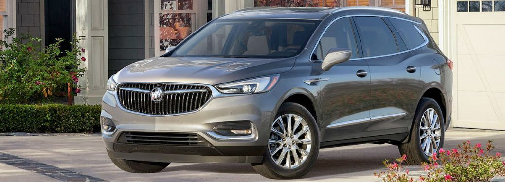 2018 Buick Enclave in gray
