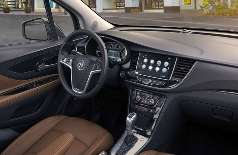2018 Buick Encore dashboard