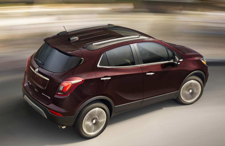 2018 Buick Encore in brown