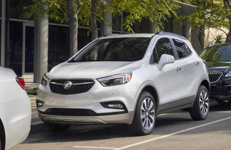 2018 Buick Encore in white