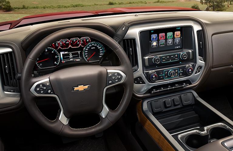 2018 Chevrolet Silverado 3500 HD dashboard