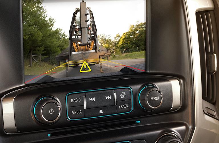 2018 Chevrolet Silverado 3500 HD touchscreen display