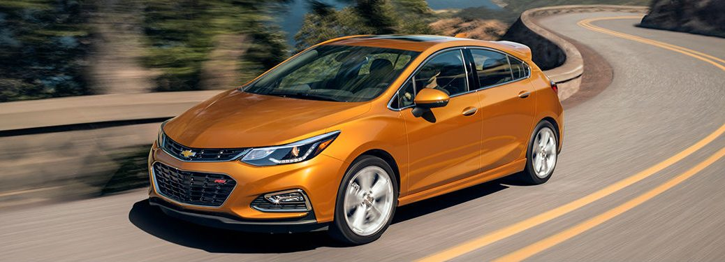 2018 Chevy Cruze in orange