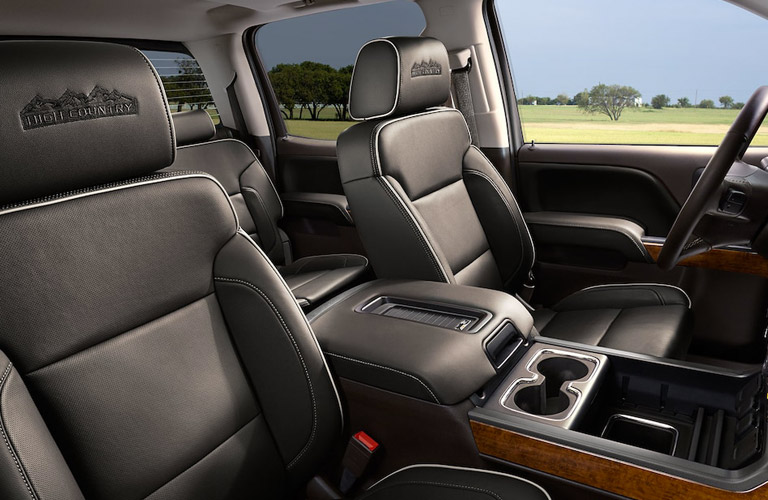 2018 Chevy Silverado seating
