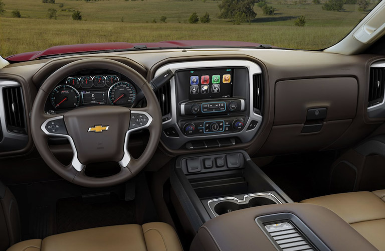 2018 Chevy Silverado dashboard