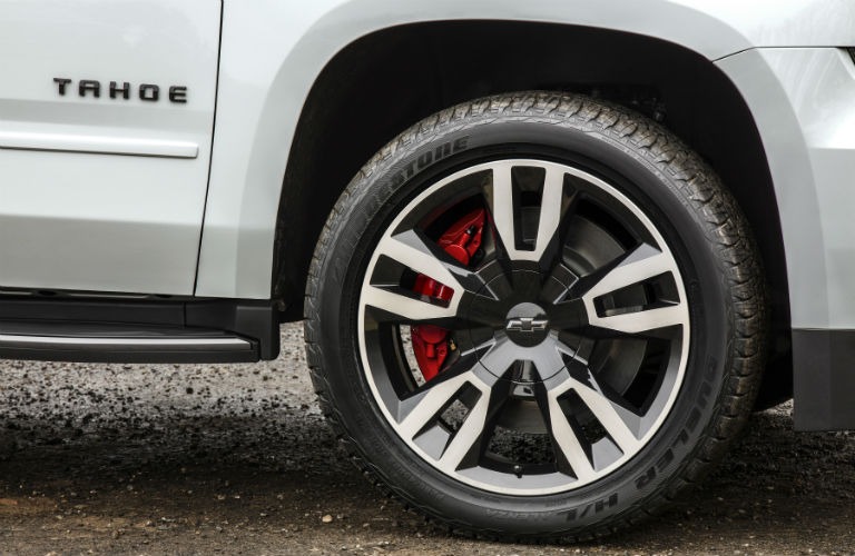 2018 Chevy Tahoe tire