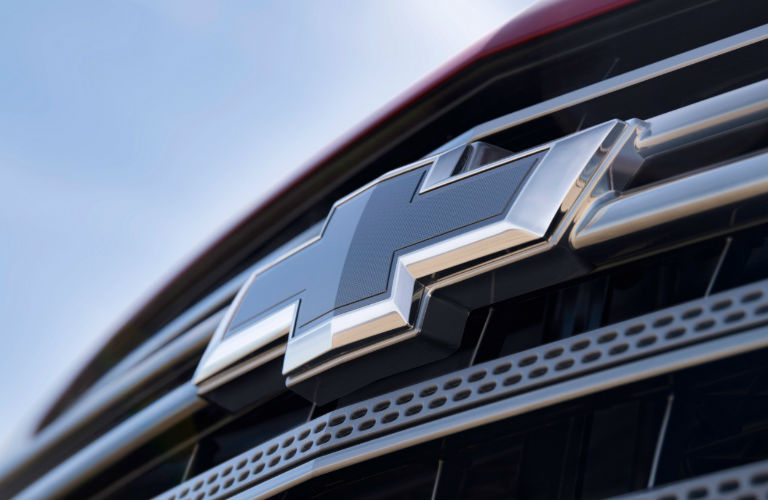 2018 Chevy Traverse RS badge