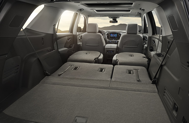 2018 Chevy Traverse cargo space