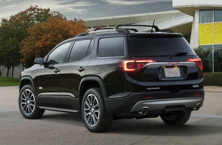 2018 GMC Acadia rear in black