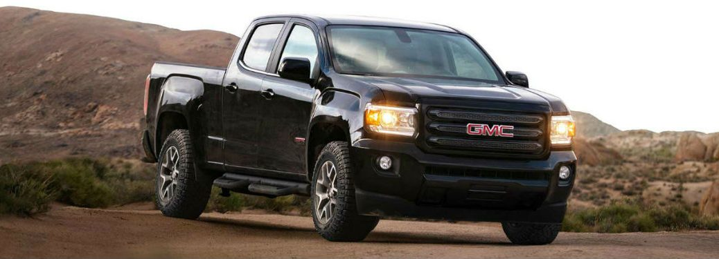 2018 GMC Canyon in black