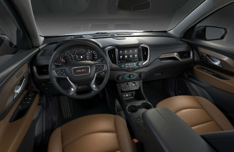 2018 GMC Terrain dashboard