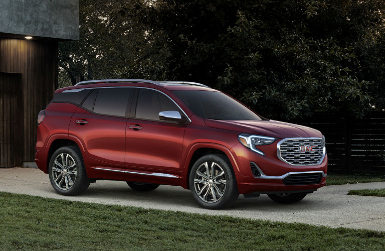 2018 GMC Terrain Denali in red