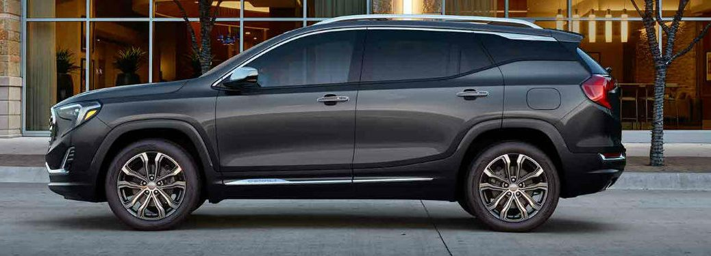 2019 GMC Terrain Denali in gray