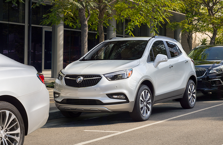 2019 Buick Encore in white