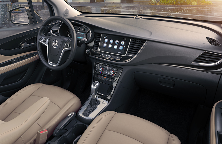 2019 Buick Encore dashboard