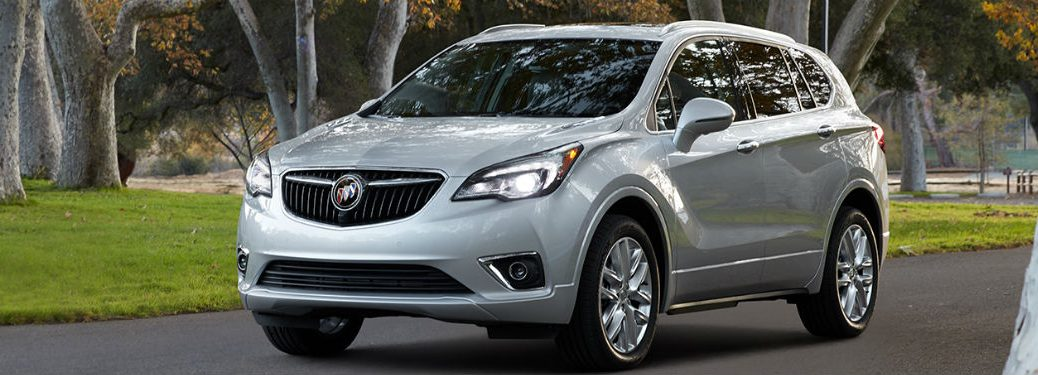 2019 Buick Envision in gray