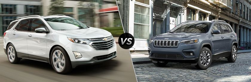 2019 Chevy Equinox vs 2019 Jeep Cherokee Winnipeg