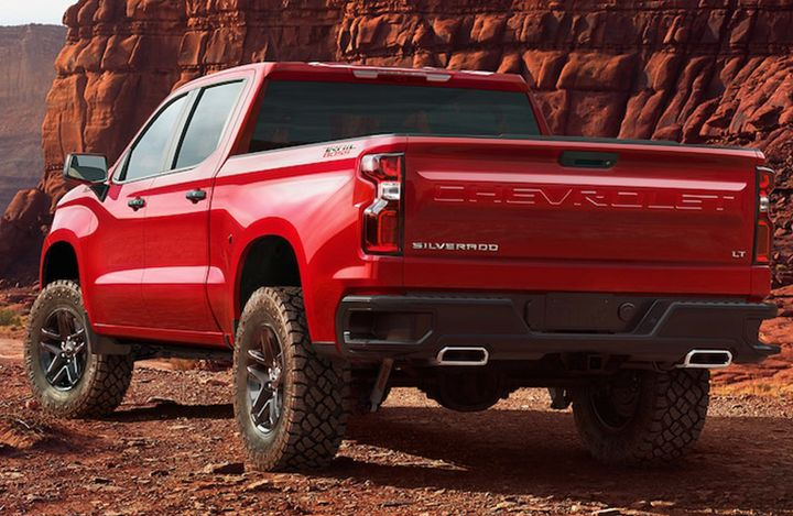 2019 Chevy Silverado 1500 Red Exterior Winnipeg