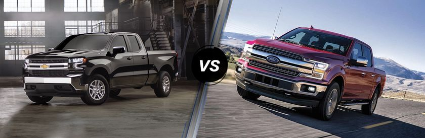 2019 Silverado 1500 Vs 2019 F150 Winnipeg