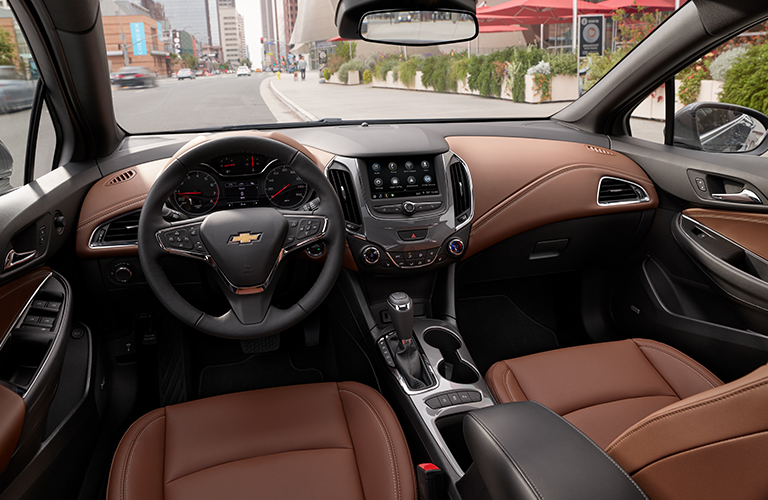 2019 Chevy Cruze dashboard