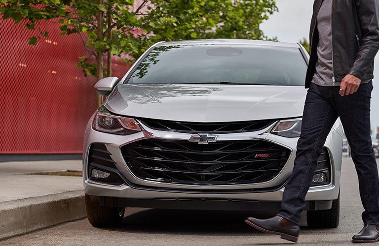 2019 Chevy Cruze grille in gray