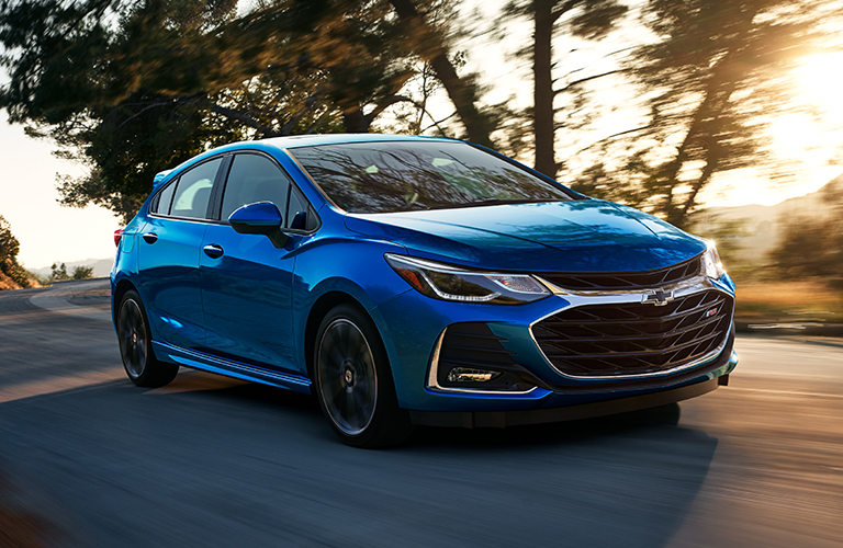 2019 Chevy Cruze in blue