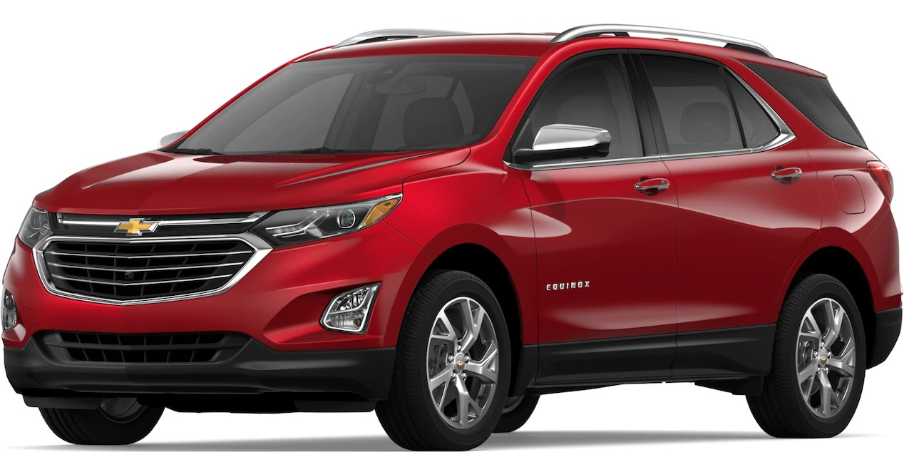 2019 Chevy Equinox Cajun Red side view