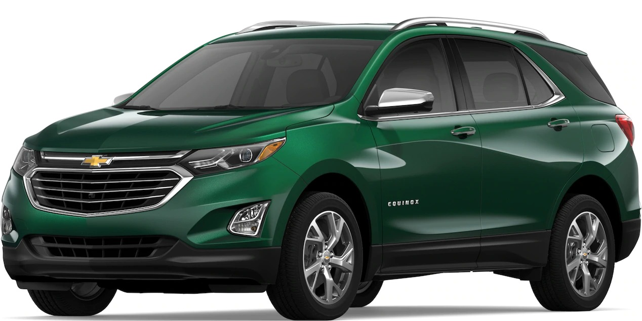 2019 Chevy Equinox Ivy Metallic side view