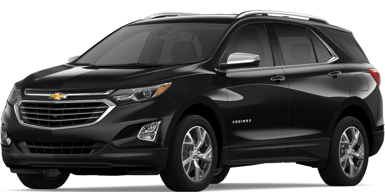 2019 Chevy Equinox Mosaic Black Metallic side view