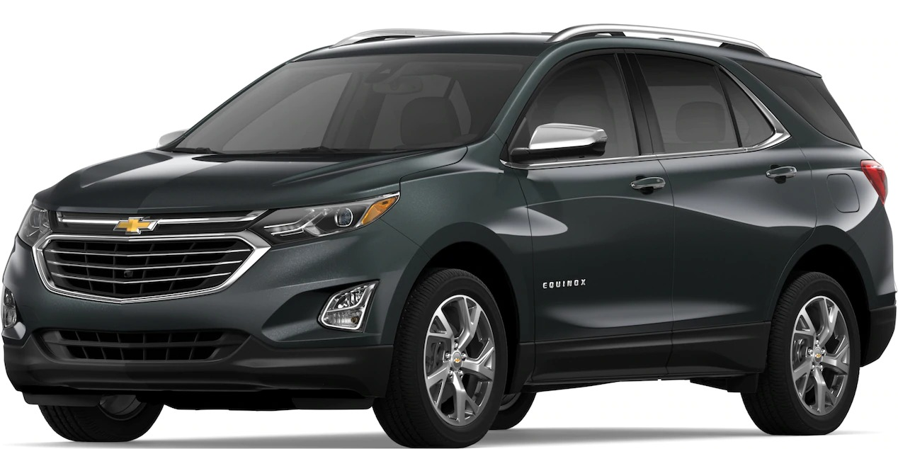 2019 Chevy Equinox Nightfall Gray Metallic side view